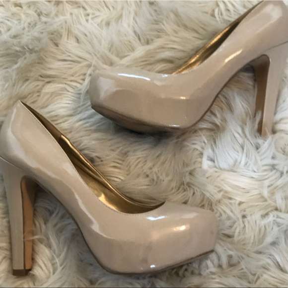 Guess Shoes - Guess Nude Pumps | Size 9.5